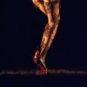 Chantal Thomass and Sophie Hallette turn Crazy Horse Paris «Upside Down» to celebrate 65 years of folly and glamour!  Read more on the Journal, link in bio! Photo: Antoine Poupel #sophiehallette #lace #shadowplay #crazyhorse #dancer #paris #cabaret #show #lingerie #newshow #ChantalThomass @chantalthomass @crazyhorseparis_official