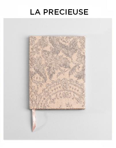 lace notebook carnet dentelle Sophie Hallette