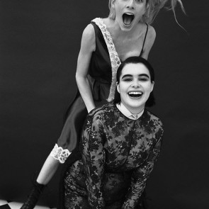 @barbieferreira wearing Prada #FW20 lace cape made with our lurex lace for @vmagazine 🖤✨ .  #VMagazine #dentelle #dentelledecaudry #dentelledecalais #dentelledecalaiscaudry #lurex #lurexlace #lace #frenchlace #madeinfrance #dentellefrancaise #sophiehallette #Prada #barbieferreira #euphoria #HBO #potd #hunterschafer #blackandwhite