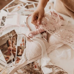 @airida_zo using our lace for her creation of elegant and refined underwear ✨🌸 #sophiehallette #dentelle #dentellede calais #dentelledecaudry #dentelledecalaiscaudry #dentellefrançaise #frenchlace #lace #madeinfrance #underwear #airida_zo