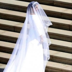 2 years ago… What a veil! #megan #royalwedding #bridalveil #love #tullebobin #❤️
