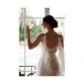 Du rêve à la réalité 👰♀️ Notre dentelle Leavers « Marilyn » sur cette magnifique robe de mariée signée @dar_al_hanouf 💛✨   .  From dream to reality 👰♀️ Our Leavers «Marilyn» lace on this beautiful wedding dress by @dar_al_hanouf 💛✨   #sophiehallette #dentelle #lace #dentelledecalais #dentelledecaudry #dentelledecalaiscaudry #dentellefrancaise #frenchlace #madeinfrance #dentelleleavers #leaverslace #savoirfaire #wedding #weddingday #weddingdress #weddinggown #robedemariee #mariee #mariage #bride #bridal #bridaldress #romantic #elegance #robedentelle #daralhanouf